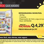 Refrigeradora WHIRPOOL La curacao Guatemala