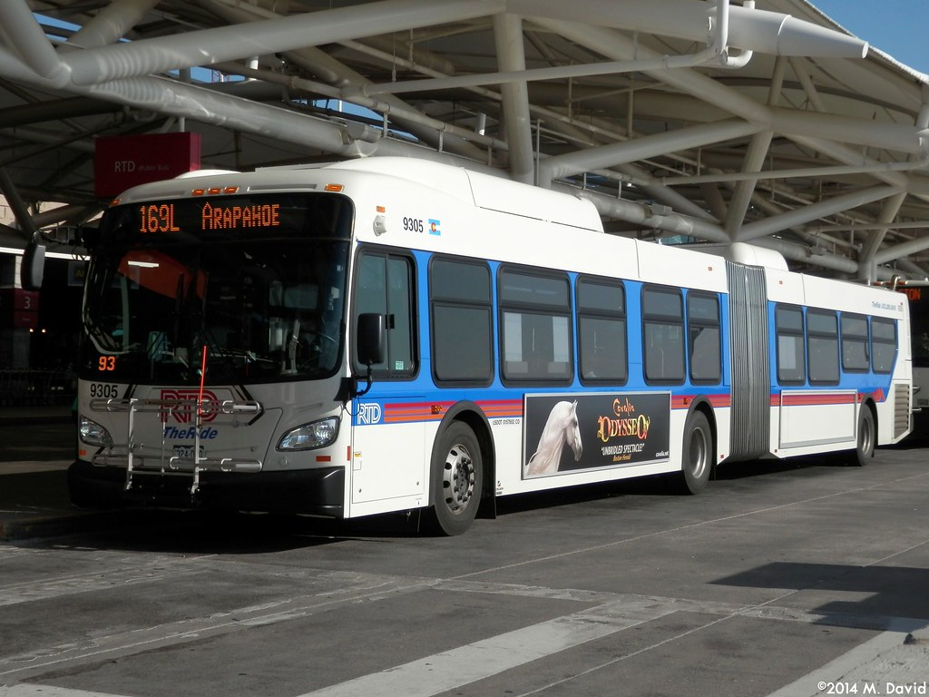 RTD 9305 RTD 9305 A 2014 New Flyer XD60 Is Seen