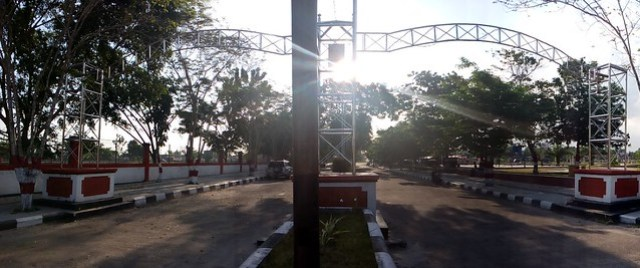 Gerbang menuju area dalam