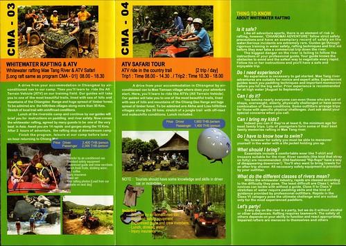 Brochure Chiang Mai Adventure Thailand 4