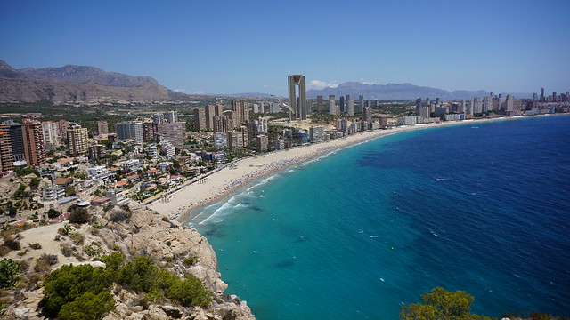 Take advantage of a holiday let in Benidorm