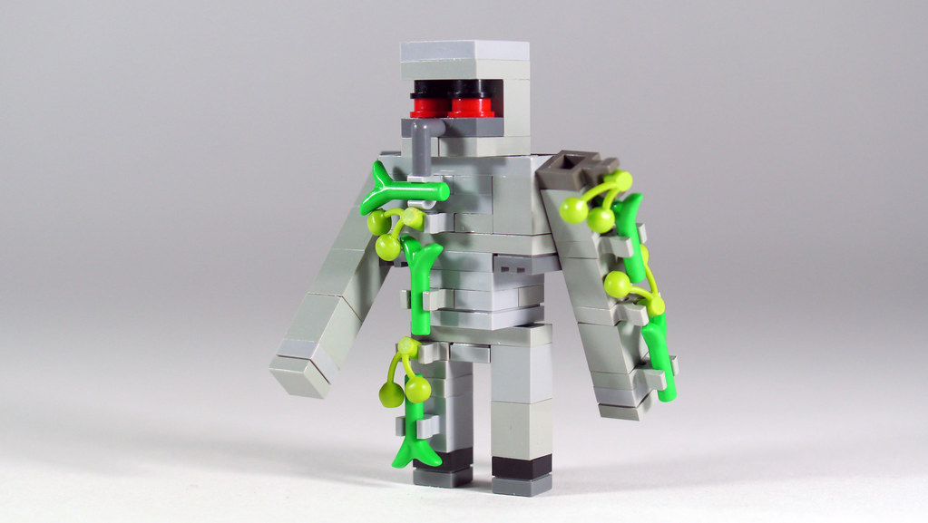 LEGO Minecraft Iron Golem 3x Scale See How To Build It