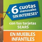SEARS promociones en muebles infantiles - 21jul14