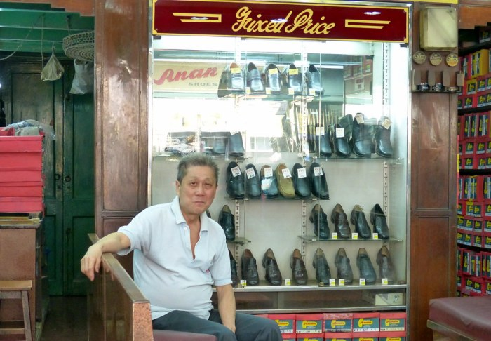 Chinese shoe store in Bentinck Street, Kolkata. Source ~ Flickr.com