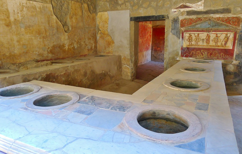 pictures for the kitchen vinyl backsplash thermopolium of asellina | in pompeii, a ...
