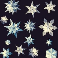 Christmas Origami Flower Diagram Washing Machine Motor Wiring Snowflakes Riccardo Foschi Freefolding