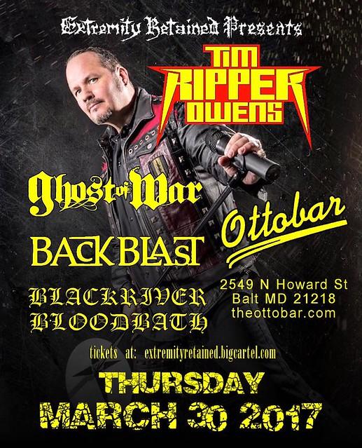 Tim Ripper Owens at Ottobar