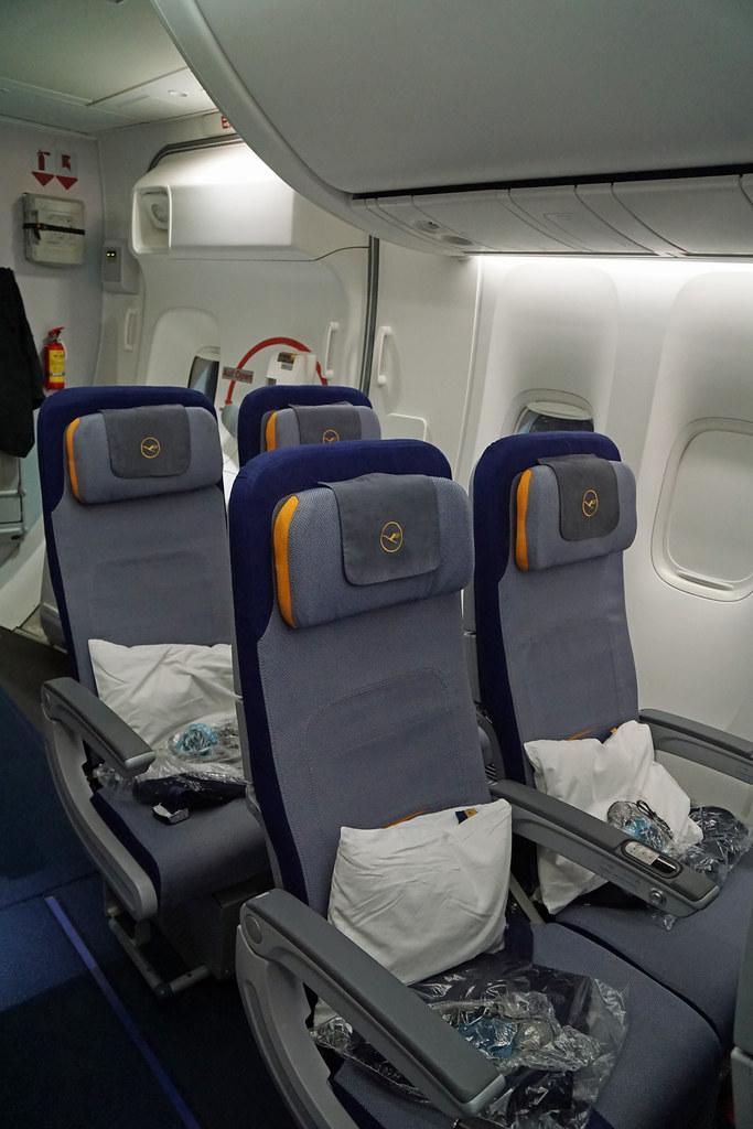Lufthansa International Economy Class Seats  The