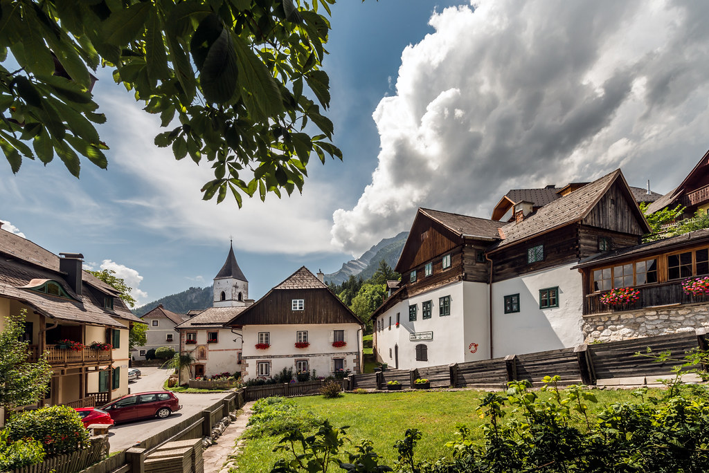 The village of Prgg in Styria  Austria  Prgg is a