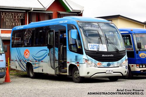 Buses Ojeda - Castro - Mascarello Gran Micro / Mercedes Benz (FTPF33)
