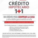 Credito hipotecario mas credito de invesion y remodelaciones