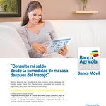 Consulta tus cuentas BANCA MOVIL electronica banco agricola