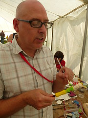 painting at Spoonfest 2014