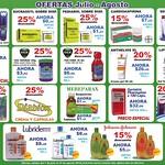 Ofertas de Julio y Agosto 2014 SUPER FARMACIAS San Benito el salvador