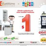Promociones LA CURACAO mini cuotas muebles a un DOLLAR - 22ago14
