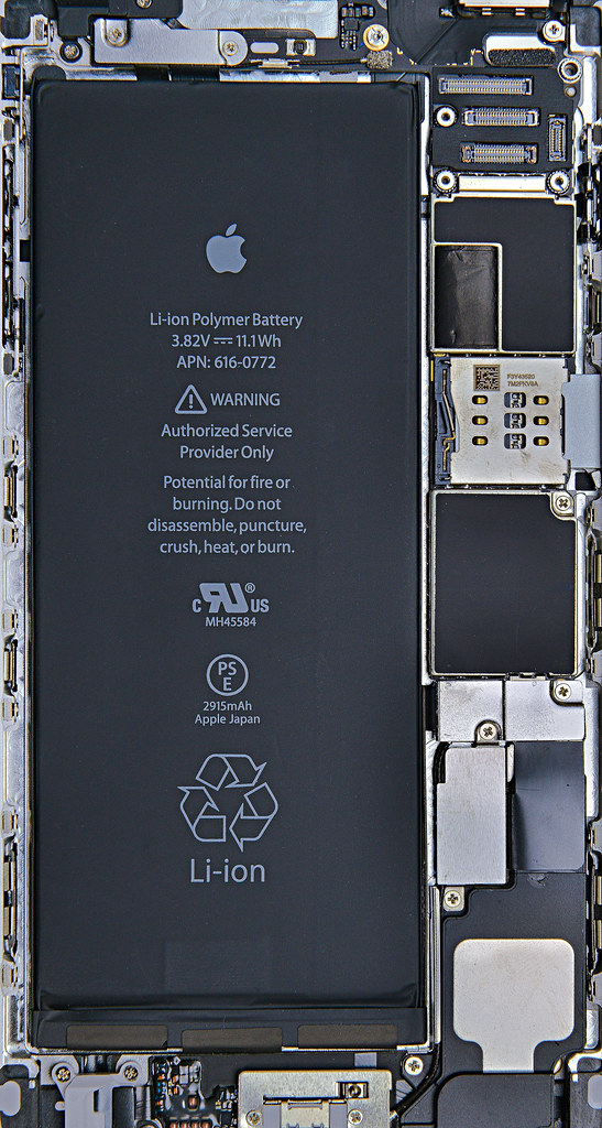 Iphone X Ifixit Wallpaper Iphone6 Plus Silver Internals Wallpaper Iphone6