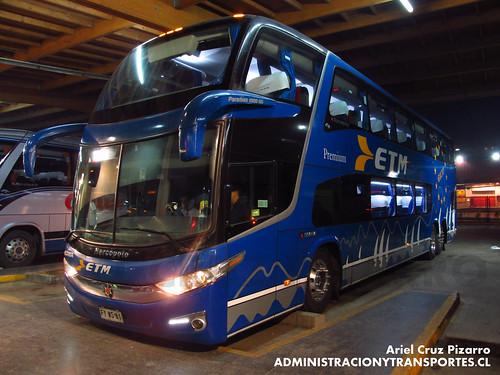 Buses ETM - Puerto Montt - Marcopolo Paradiso 1800 DD G7 / Scania (FYWS81)
