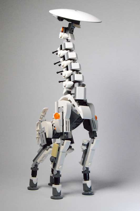 Build Your Own Lego Tallneck From Horizon Zero Dawn Instructions
