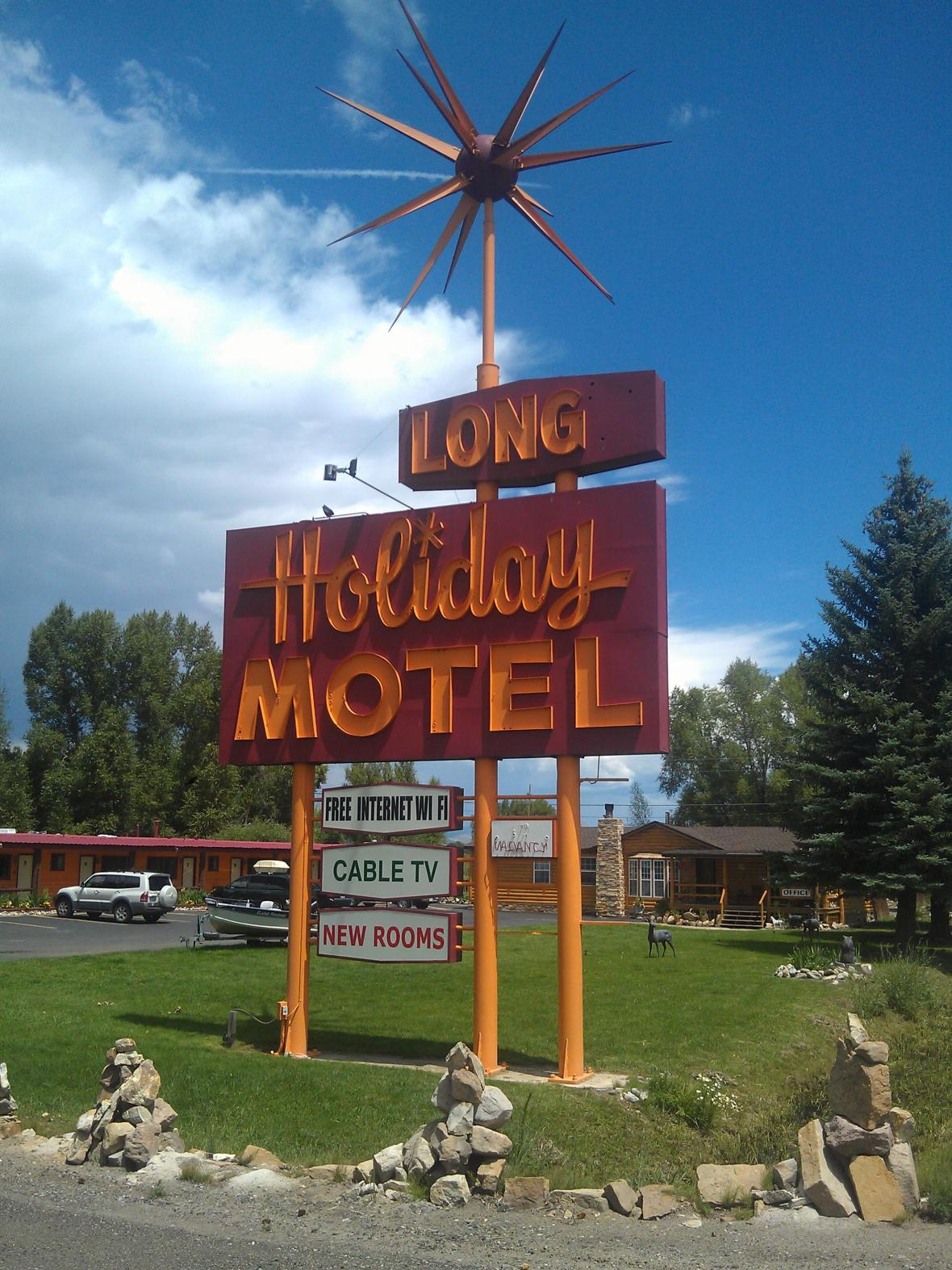 Long Holiday Motel - 1198 West U.S. Highway 50, Gunnison, Colorado U.S.A. - August 3, 2013