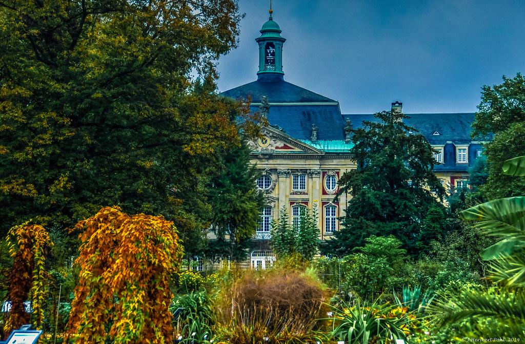 Münster, Botanischer Garten, Schlosspark Und Schloss  Bo