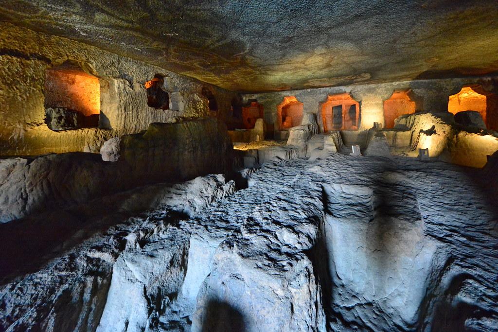 India Maharashtra Ajanta Caves Cave 24 4 Cave 24