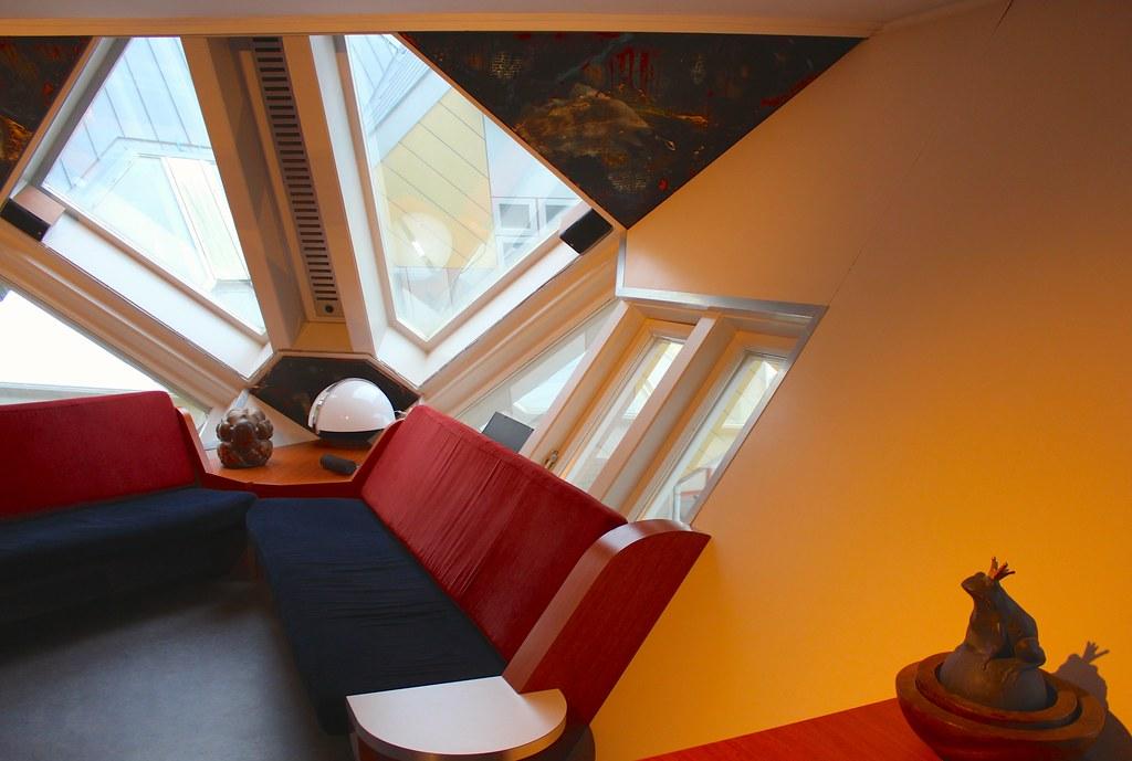 Interieur Kubuswoning  Interieur Kubuswoning Rotterdam