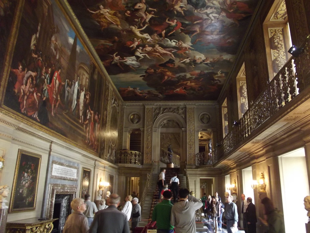 Inside Chatsworth House  Painted Hall  murals  At Chatswo  Flickr