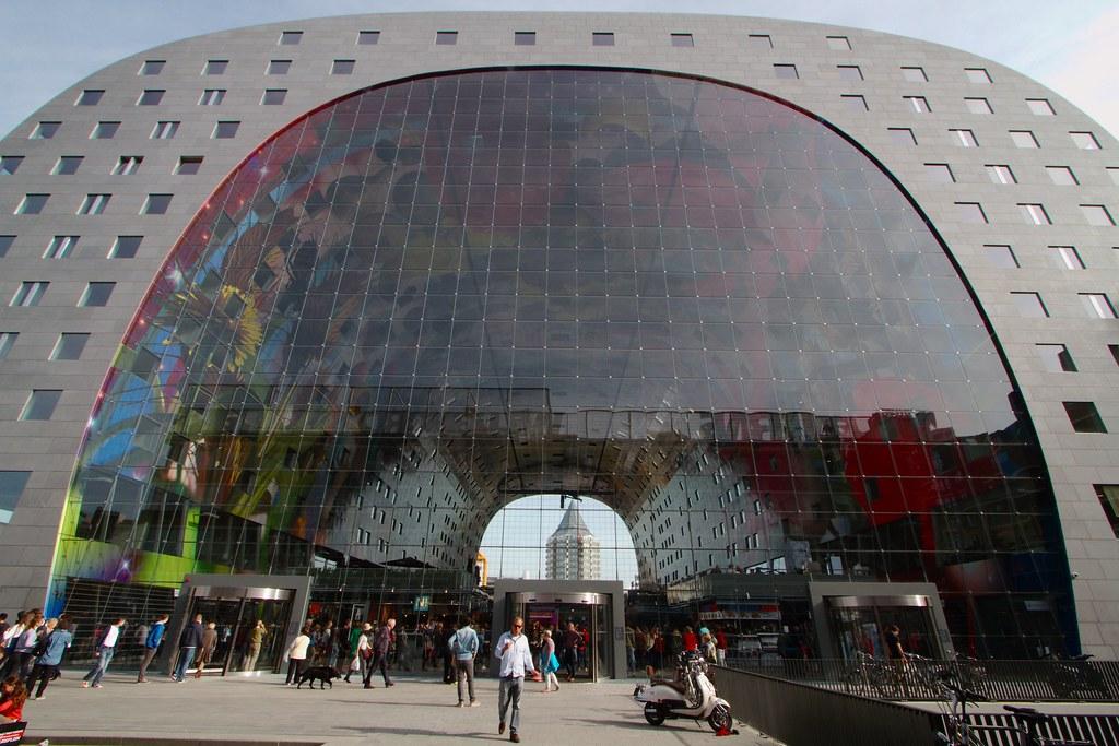 Markthal Rotterdam  Markthal Rotterdam The Market Hall