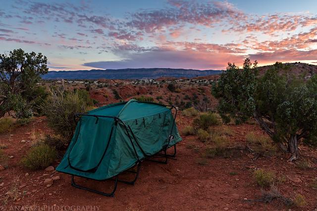 Harris Wash Camp
