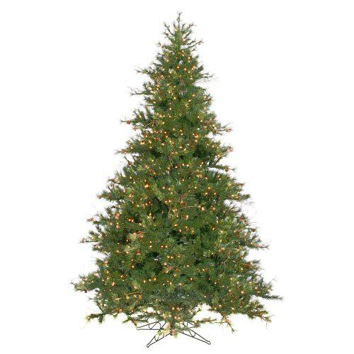 Vickerman Mixed Country Pine Full Prelit Christmas Tree