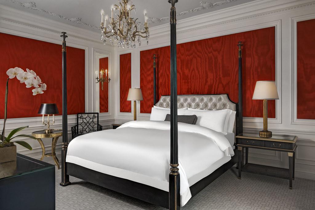The St Regis New York—imperial Suite Bedroom  Imperial