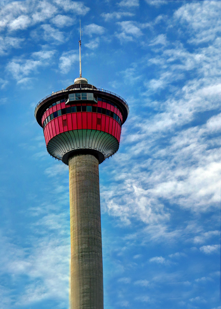 Calgary Tower  Until 1983 the Calgary Tower was the