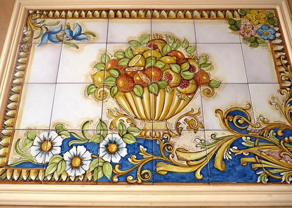 Mazzeo di Taormina  Mattonelle in ceramica di Caltagirone