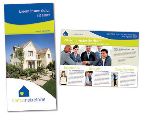 Real Estate Brochure Template Real Estate Brochure