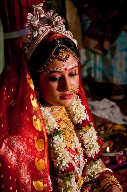 The Bride Hindu Bengali Wedding India Flickr Photo