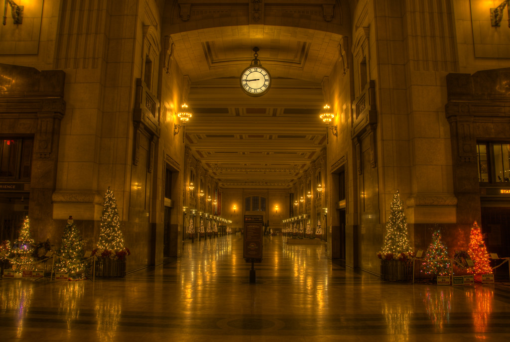 Union Station Kansas City  Christmas Trees at Union