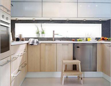 Backsplash Window  IKEA kitchen I  that window  tile