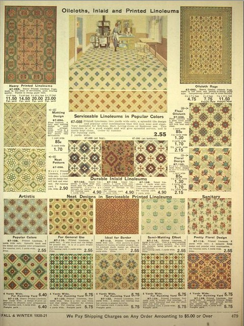 Oilcloths and Linoleum Designs 1920  Flickr  Photo Sharing