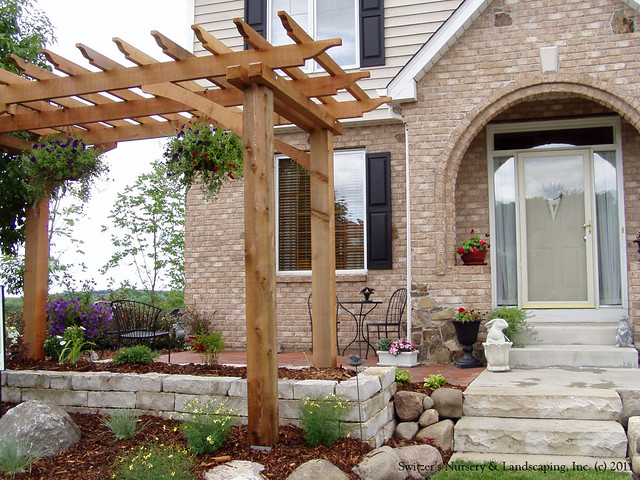 Front Entry Garden Room Front Yard Patio Just Add