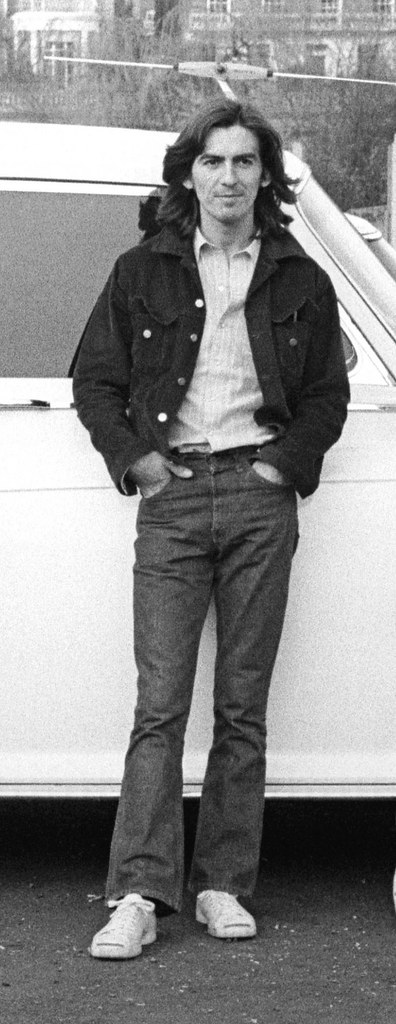 George Harrison in Jack Purcells 1969  John Lennon