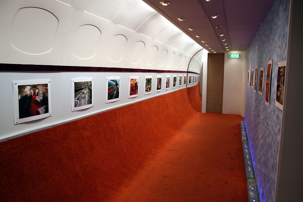 Aeroplane Interiors Showing The Luxury Of African Dictator
