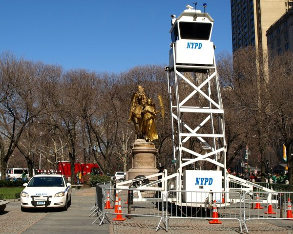 Nypd Mobile Observation Tower Grand Army Plaza York