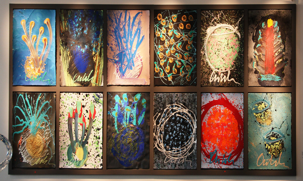 Dale Chihuly Drawings  Litvak Gallery Tel Aviv  Flickr