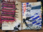 weaving recycled materials - design