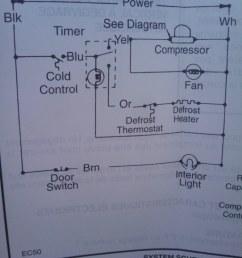 freezer defrost wiring diagram [ 768 x 1024 Pixel ]