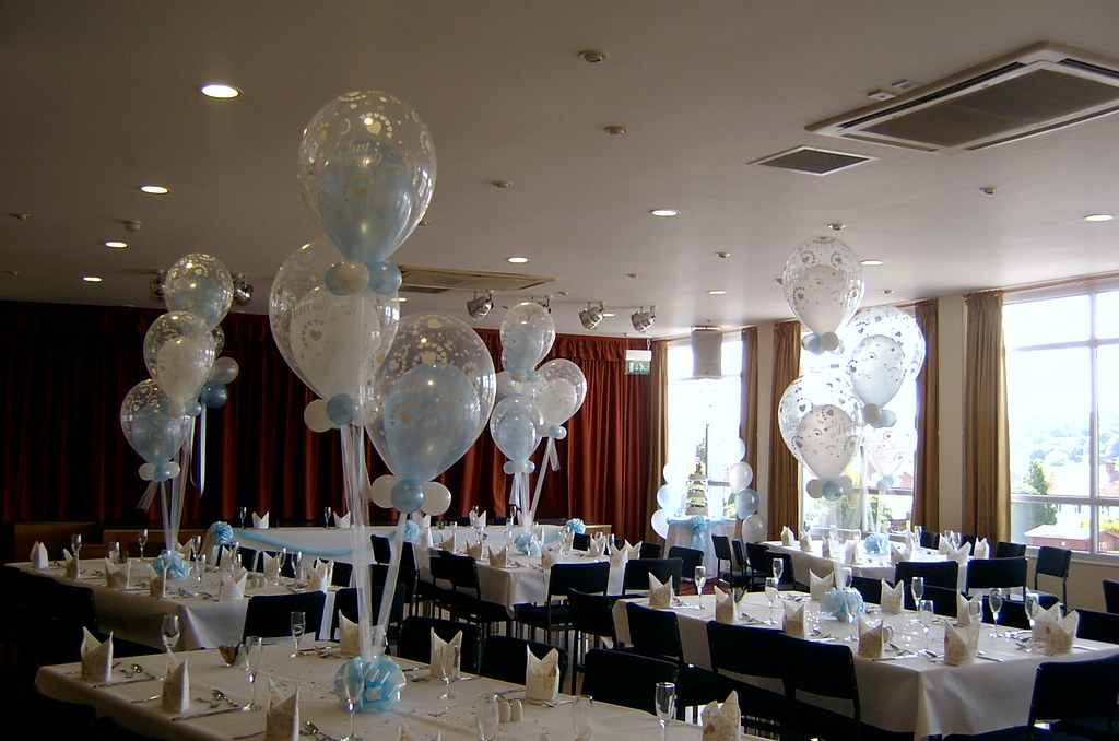 balloon decorations for table displays  Decorations done