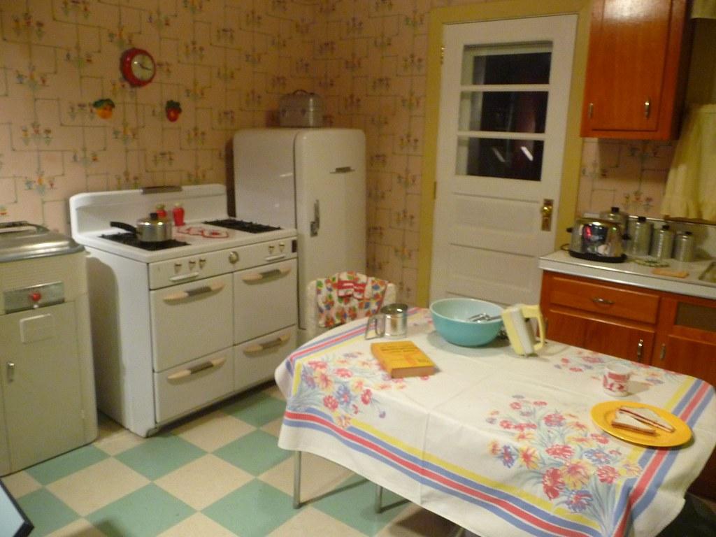 1950s style Kitchen  1950s style Kitchen at the Heinz