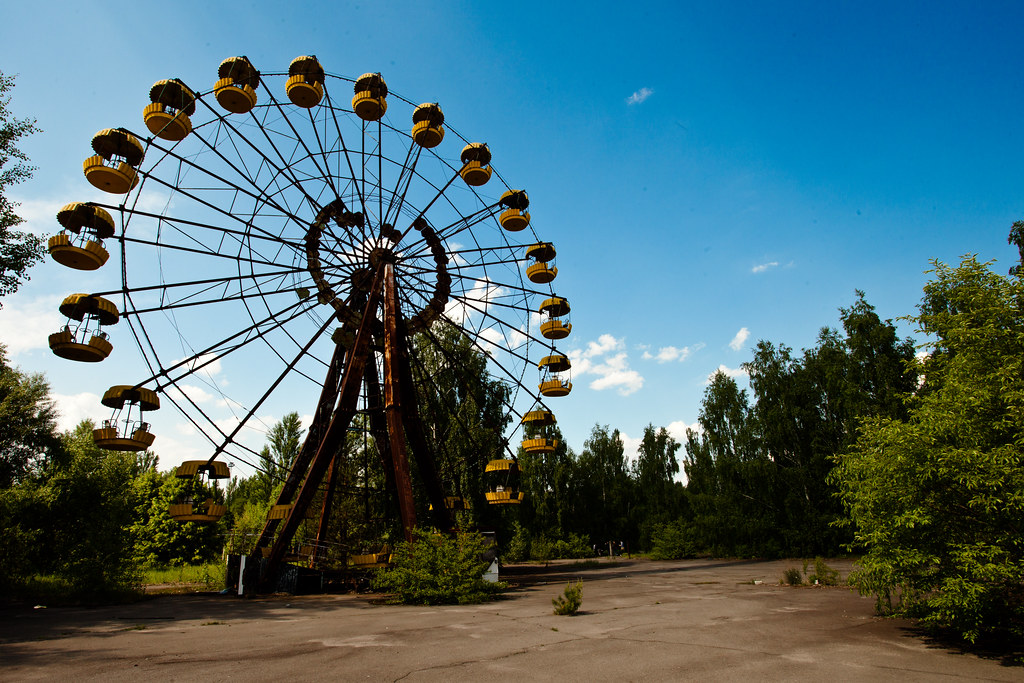 Chernobyl Ferris Wheel One Of The Iconic Shots Of