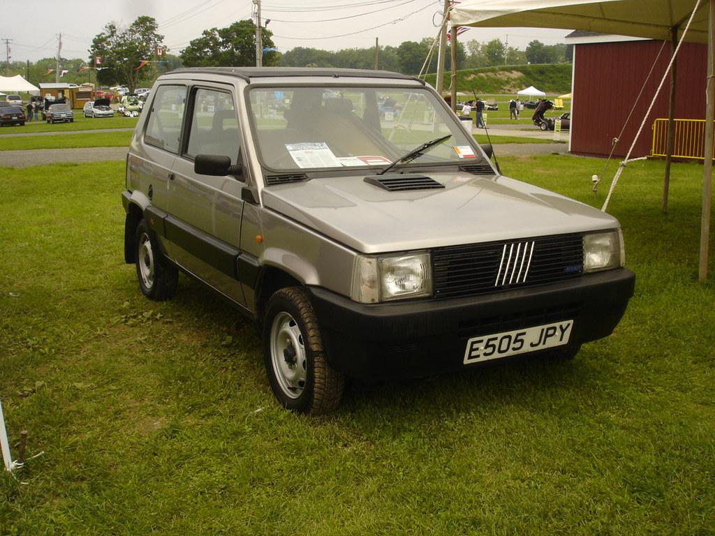 Fiat Panda  Four wheel drive Italian fury I think the
