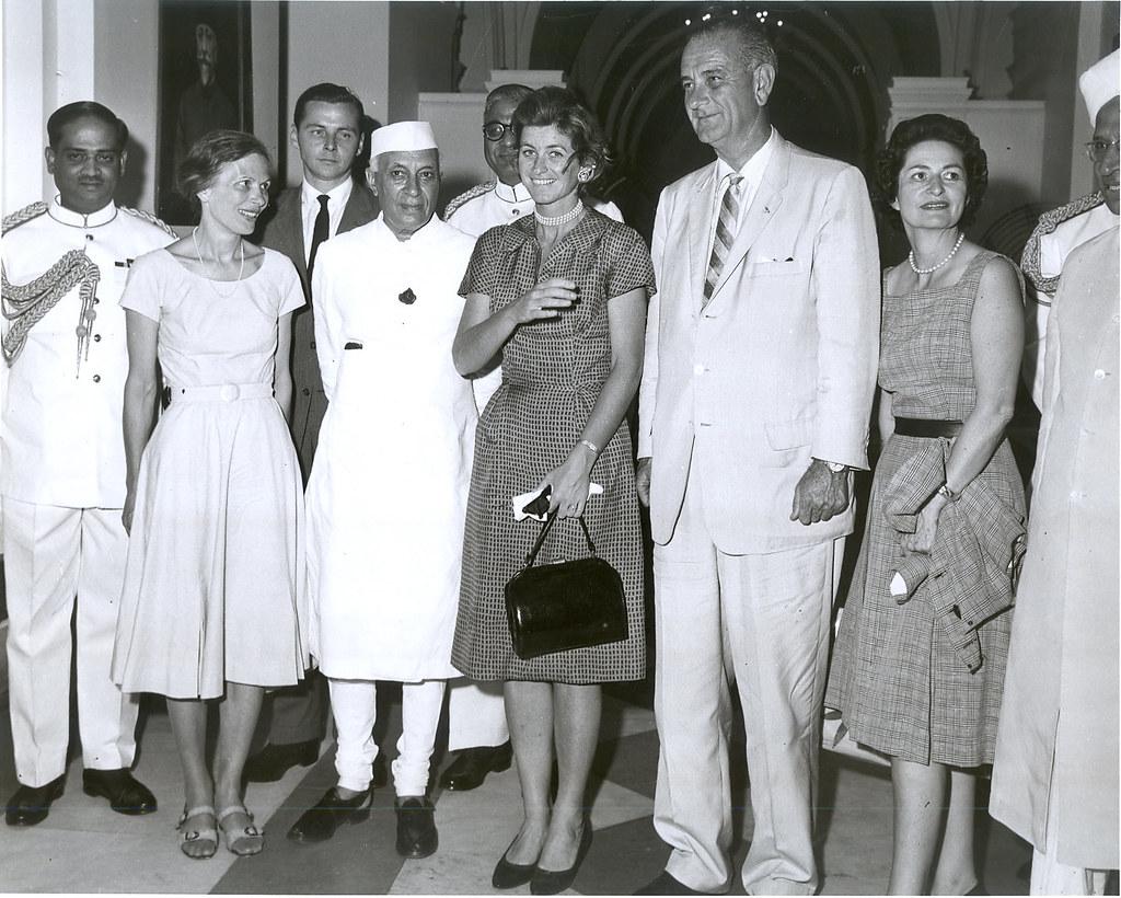 Vice President Lyndon Johnson in India  American Vice